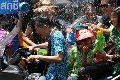 Songkran Festival @Siam Square, Bangkok