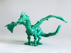 3ders.org - 3D print your own 42-piece fully-articulating dragon   3D Printer News & 3D Printing News