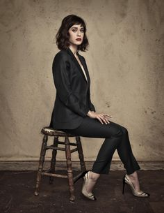 Lizzy Caplan by Dan Winters.