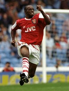 Ian Wright! One of the top goals scores for Arsenal.  ~COYG