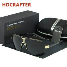 Cool Mens Retro Polarized Sunglasses