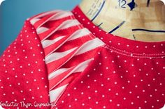Project Run & Play Sew Along – Pleated Shoulder Detail - add details to a sewn garment to really make it your own!