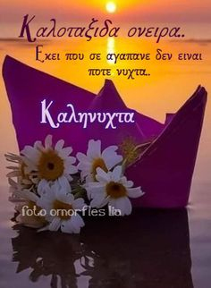 Greek Quotes, Sweet Dreams, Good Night, Wish, Pictures, Inspiring Sayings, Nighty Night, Good Night Wishes