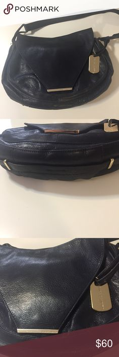 ea371661d3a9 Vince Camuto Navy Leather Bag Gorgeous Leather Bag. Like new