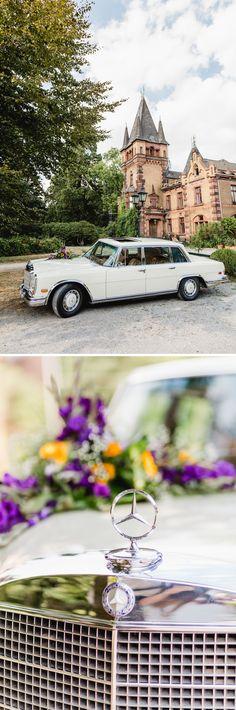80 cm Autodeko Strauß Autoschmuck Braut Paar Deko Hochzeit Brautauto Creme BLAU