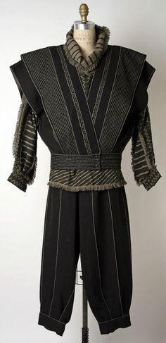 Issey Miyake ensemble ca. 1980-1982 via The Costume Institute of the Metropolitan Museum of Art