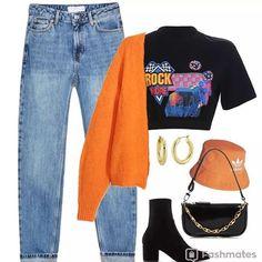 Fun Fashion Tips .Fun Fashion Tips Teenage Outfits, Teen Fashion Outfits, Edgy Outfits, Retro Outfits, Cute Casual Outfits, Cute Fashion, Look Fashion, Outfits For Teens, Korean Fashion
