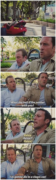 funniest scene mcdanno hawaii five 0 danny williams steve mcgarrett 4.22