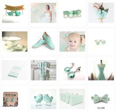 16 finds in Mint for your Mint Wedding