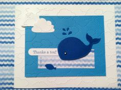 Oh Whale! Stamp set   www.kimwilliams.stampinup.net