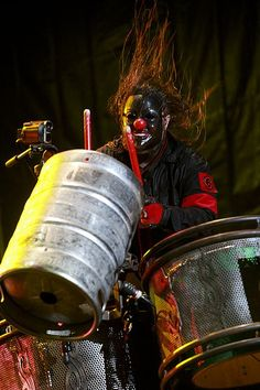 Slipknot. One of the coolest shows I've ever been to