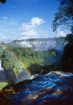 Iguassu Falls, Brazil...we almost made it there