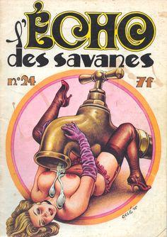 More 70s Comics - L'Écho des Savanes 24 - 1976 - illustration Solé