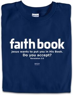 Faithbook parody Christian T-Shirt by Kerusso $15.50