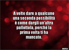 A volte dare a qualcuno una seconda possibilitàè come.. Verona, Tumblr, Horror Stories, Book Quotes, Vignettes, Sentences, Einstein, Wisdom, Lol