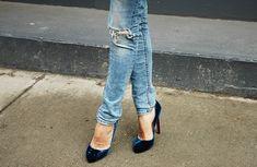 velvet shoes <3
