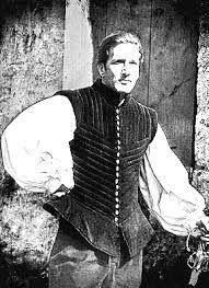 JACKET: O jerkin, sustituye a la cotardia; llevaba hombreras para aumentar la aparencia de la anchura de torax, las mangas son desmontables.