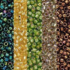 lot 20g perles de rocaille ornella blanc irisé ////25