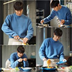 Lee Min Ho Cooks in the Kitchen for His Mermaid in New Episode 9 Stills for Legend of the Blue Sea | A Koala's Playground