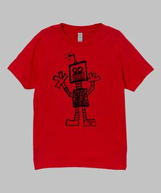 Love this Red Robot Tee - Infant, Toddler & Boys by Micro Me on #zulily! #zulilyfinds
