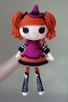 free lalaloopsy crochet pattern | ... patterns > Epic Kawaii's patterns > Lalaloopsy Candy Broomsticks Doll