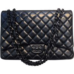 CHANEL jumbo bag Black on Black <3 One day!!