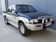 This Twin cab 4×4 Ute was hand picked for its reliability and safety. Featuring a strong fuel efficient 2.6L 4 cyl engine with 5 Speed Manual  transmission. It also has many Awesome features such as, alloy wheels, Alloy Bullbar, Spotties, Side steps and Tonneau Cover.  This car has been well cared for. Comes with log books and has an exceptional mechanical inspection report.  #usedcars #carsforsale #Manual #Mazda #B2600