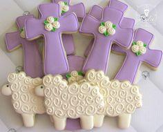 Easter cookies http://cookiecutter.com/cross-cookie-cutter-4-5-in.htm