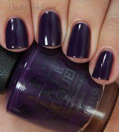 "OPI ""A Grape Affair"" | Peachy Polish"