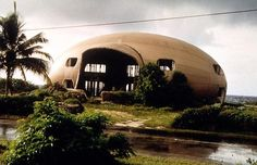 "Tacita Dean. Bubble House (film), 1999. The subject of Dean's work is a deserted ruin of a half-completed building on Cayman Brac's ""hurricane coast,"" known by local residents as the ""Bubble House."" Designed to be the perfect ""hurricane housing,"" the egg-shaped ""Bubble House"" was abandoned during construction by its owner, leaving it to face the storms alone."