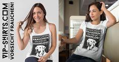 Neues T-Shirt – Design für Damen und Herren  ★ VORSICHT VOR DEM FRAUCHEN ★ 716 - 1G  Egal ob Tanktop oder T-Shirt, jedes Teil nur 19,95€!  #hund #dog #labrador #frauchen #herrchen #love #bekleidung #design #tshirts #shirt