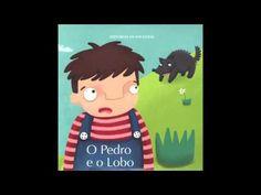 Audio Livro - O Pedro e o Lobo - Histórias de encantar - Português Port...
