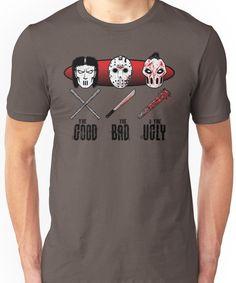 Hockey Mask Evolution Unisex T-Shirt