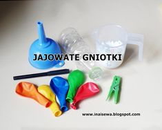 "Ina i Sewa: Jajowate gniotki DIY - ,,Piątki z eksperymentami"" Sensory Bottles, Diy And Crafts, Education, Kids, Science, Therapy, Young Children, Boys, Children"