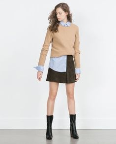 A-LINE SKIRT-Mini-Skirts-WOMAN-SALE | ZARA United States