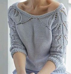 p/belaubte-pullover-baby-kleidung - The world's most private search engine Sweater Knitting Patterns, Knitting Designs, Baby Knitting, Knitting Projects, Mode Crochet, Knit Crochet, Tricot D'art, Baby Pullover, Pullover Shirt
