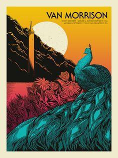 John Vogl Van Morrison And Andrew Bird Posters