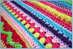 Crocheted Stitch Sampler Blanket