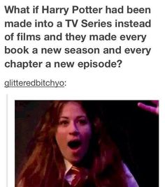 can this happen please . come one give harry potter fans a little love please ...please ??!!