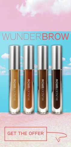 WunderBrow, like this image is sugar & spice & all things nice! Looking for a brow product that will keep your brows looking faultless all year round? Want a brow product that will last until you decide to take it off? WunderBrow is the answer to all your questions! With 4 unique & beautiful shades to choose from & smudgeproof, sweatproof, transferproof & waterproof technology - there's no reason not to try one of the most hyped products on social media! Order today! Only $22 with free…