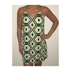 Sage aztec dress Only worn once, in great condition! Sage Dresses Mini