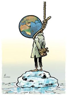 Just a matter of time? Cartoon by Maarten Wolternink: cartoonmovement. Save Earth Drawing, Save Earth Posters, Earth Drawings, Art Environnemental, Satirical Illustrations, Meaningful Pictures, Time Cartoon, Plakat Design, Save Our Earth