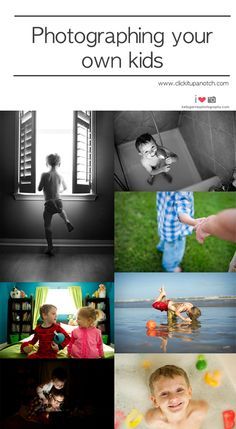 Photographing your own kids via Click it Up a Notch