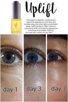 Uplift Eye Serum offers maximum moisturizing while minimizing the appearance of fine lines & wrinkles with only a few concentrated drops. Uplift is an eye serum but it can also be used for wrinkles on your entire face, for dark spots, wrinkles on your hands, even stretch marks! It has earned the name BOTOX IN A BOTTLE! #Younique #ClickImageToShop #Questions #EmailMe sarahandbrianyounique@gmail.com