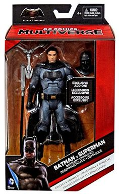 Batman V Superman Movie DC Multiverse Batman Ben Affleck Unmasked Action Figure 6 Inches ** Continue to the product at the image link.