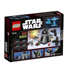 LEGO Star Wars First Order Battle Pack 75132 -- Check this awesome product by going to the link at the image. (This is an affiliate link) Ammo Storage, Weapon Storage, Star Wars Toys, Lego Star Wars, Lego Cupcakes, Buy Lego, First Order, Lego Creations, Figurine