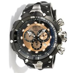 invicta venom watches for men | Invicta 11706 Venom II Reserve Rose Tone Dial Men's Watch | eBay