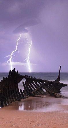 Nature's Whip! - Lightning #fireworks photography