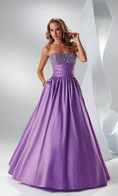 Flirt Strapless Prom Dress,FL-P4518 Evening Dresses