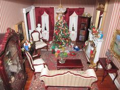 dollhouse christmas decor - - Yahoo Image Search Results